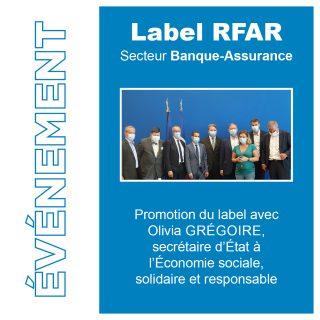 Asea invitée à une réunion sur le label RFAR Olivia GRÉGOIRE